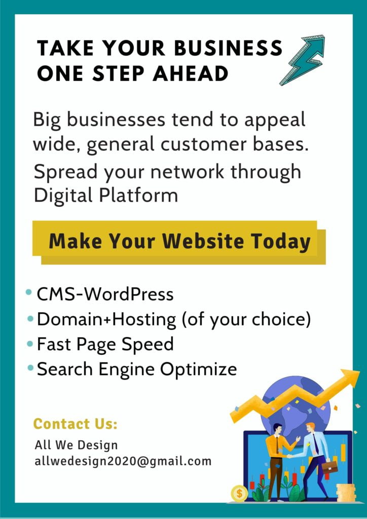 Promote your business poster