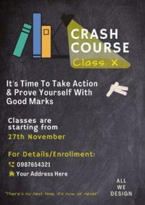 Course poster design