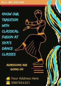 Traditional Dance Form Poster